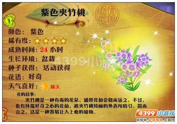 小花仙夹竹桃