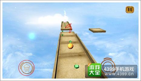 滚动3D球最后障碍