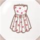 草莓连衣裙