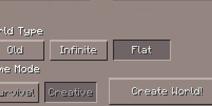 我的世界手机版平坦地图怎么生成 Flat生成地图