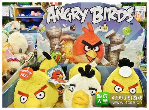 Rovio愤怒的小鸟