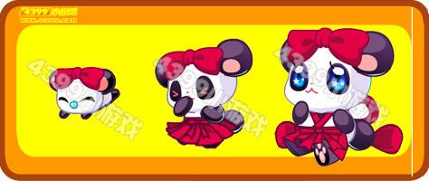 奥比岛小红熊猫-祭奠熊猫仙进化图鉴及获得方式
