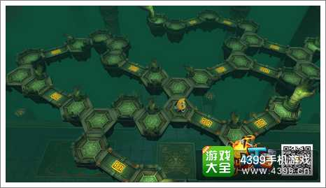 本地图类似迷宫