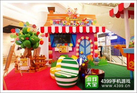 糖果传奇广州站现场