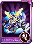 龙斗士九尾银狐紫卡属性