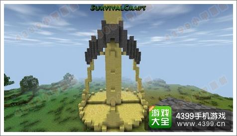 生存战争立体雕像