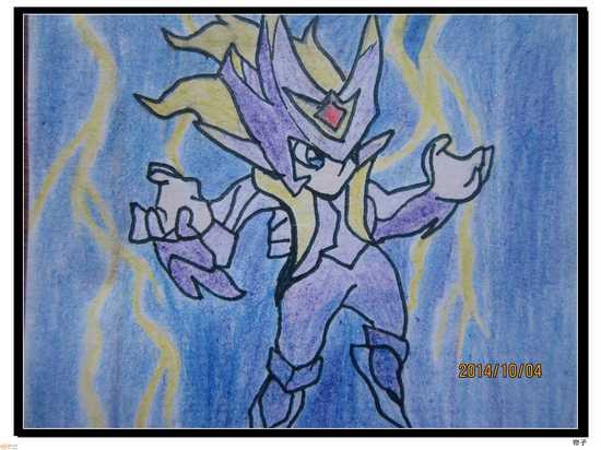 热血精灵派手绘 彩铅版亚迪斯