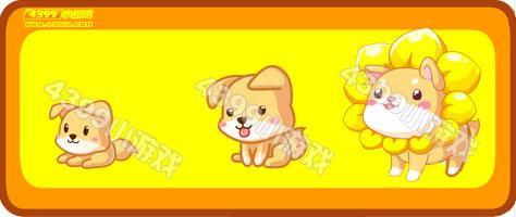 奥比岛小葵狗-向日葵狗狗进化图鉴及获得方式