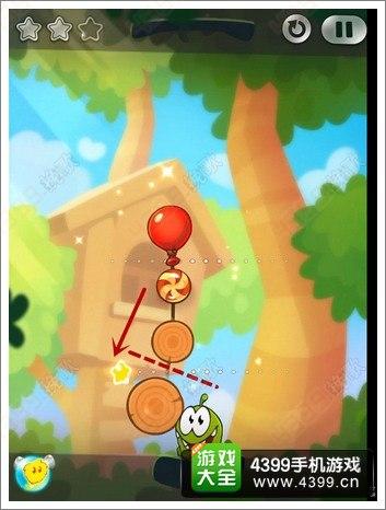 一起割绳子2森林关卡1-10攻略