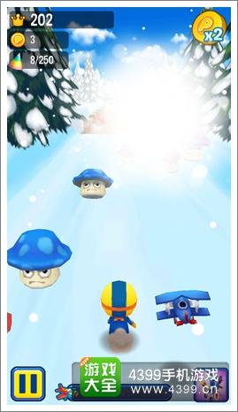 波鲁鲁冰雪大冒险蘑菇