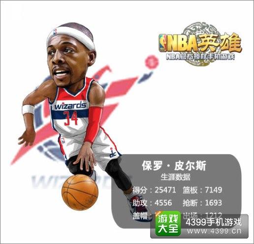 NBA英雄皮尔斯