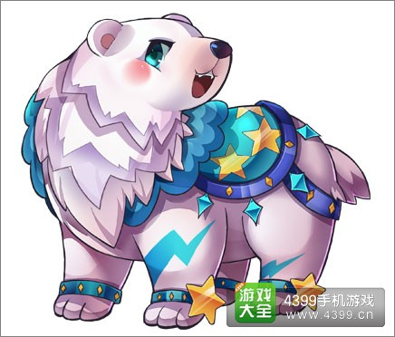 天天酷跑极地白熊