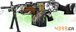 全民枪战2(枪友嘉年华)幽魂M249