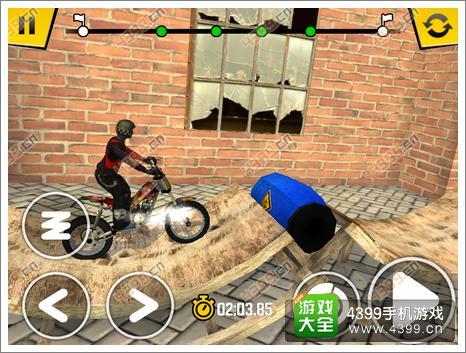 极限摩托4连续障碍