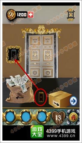 100道门的传说100 Doors Legends第13关攻略