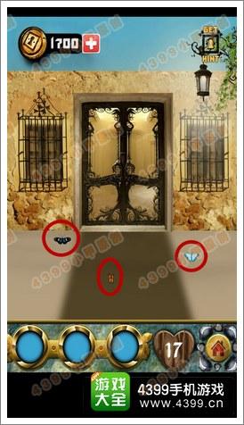 100道门的传说100 Doors Legends第17关攻略