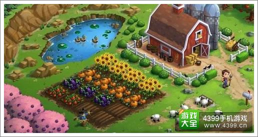 农场小镇只乡村度假土地安排攻略
