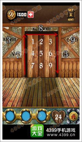 100道门的传说(100 Doors Legends)第24关攻略