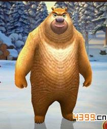熊出没之雪岭熊风熊二