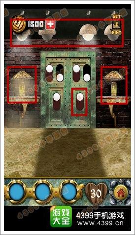 100道门的传说(100 Doors Legends)第30关攻略