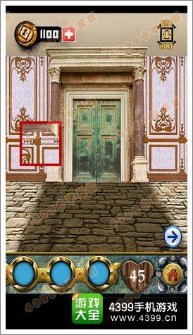 100道门的传说(100 Doors Legends)第45关攻略