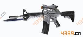 全民枪战2(枪友嘉年华)钛金M4A1