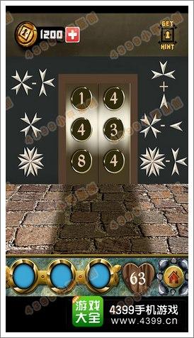 100道门的传说(100 Doors Legends)第63关攻略