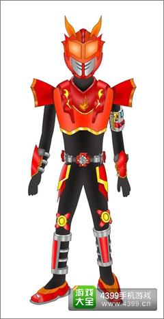 铠甲勇士之英雄传说干将造型设计 干将设计赏析