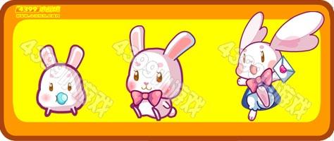 奥比岛白小兔-表白兔进化图鉴及获得方式