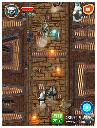 乐高神兽传奇系列部落战士射击游戏
