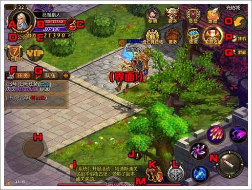 众神王座游戏界面介绍