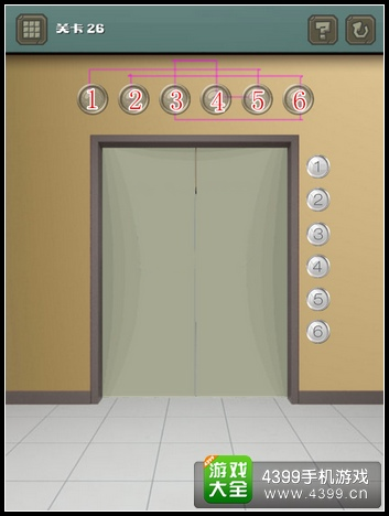 100道门的超机密实验室第26关攻略