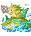 卡布西游碧鲨海兽