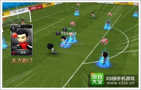只不过在画面上采用了立体实战的效果呈现,相比经典的《实况足球》