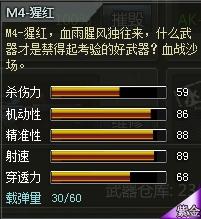 4399创世兵魂M4-猩红属性 多少钱