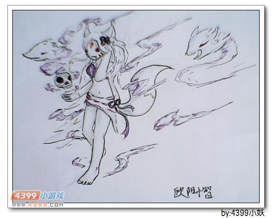 卡布手绘—玉狐姬超进化_4399卡布西游手机版