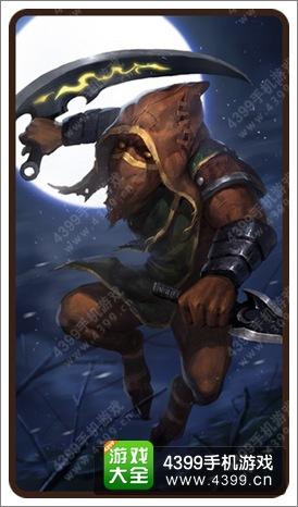 《刀塔传奇》4月签到赏金猎人曝光 天生杀手