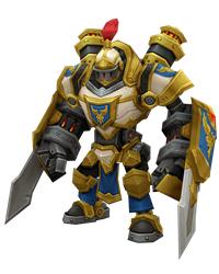 召唤师联盟机械骑士