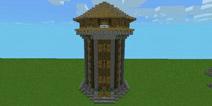 我的世界中世纪建筑教程 哨塔入门教程