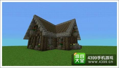 我的世界中式房子设计图展示
