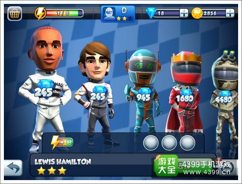 F1赛车明星车手选择