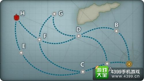 战舰少女5-1攻略