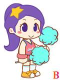 糖果酷跑啦啦队长晴子