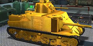 3D坦克争霸黄金M3李