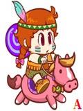 糖果酷跑野牛小骑手
