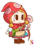糖果酷跑小红帽萌萌
