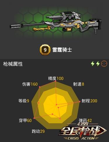全民枪战2(枪友嘉年华)9级狙击枪