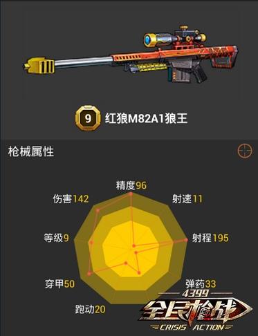 全民枪战2(枪友嘉年华)9级狙击枪哪把好
