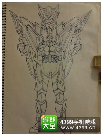 铠甲勇士之英雄传说手绘欣赏 大触画角色大全