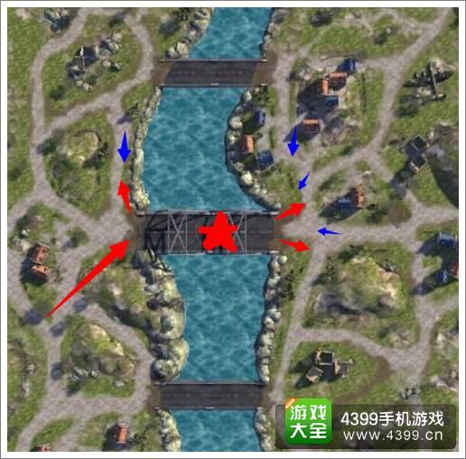 3D坦克争霸断头谷战术二